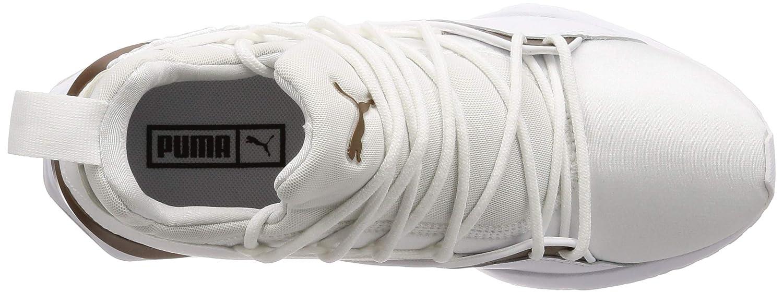 dae6e52cf8d Amazon.com | PUMA Women's Muse Maia Luxe WNS, White White | Running