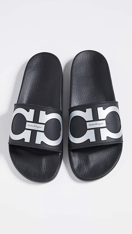 5ac79212ca0c Amazon.com  Salvatore Ferragamo Men s Groove 2 Slide Sandals  Shoes