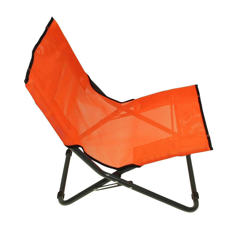 Fridani Campingstuhl in 3 Farben /& 2 Gr/ö/ßen XXL mit Kopfpolster /& verstellbare R/ückenlehne Textilene Strandstuhl Klappstuhl Gartenstuhl