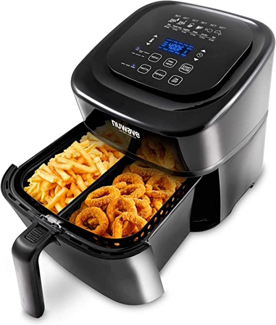 NUWAVE BRIO 6-Quart Digital Air Fryer with one-touch digital controls