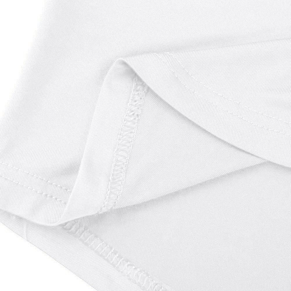 Kobay Maglia a Manica Lunga Estate Stampa Cinghietti Cold Shoulder T-Shirt Supera Le Camicette