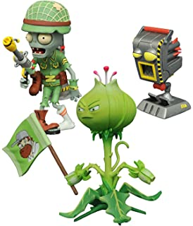 Diamond Select MAY168246 - Figuras de acción de plantas vs zombies