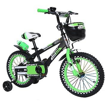 1f7a41e30db Guo shop- Bicicleta del doblez del niño 3-6-8 años Cochecito de bebé  12Inch, 14Inch, 16Inch Bike bicicletas para niños: Amazon.es: Deportes y  aire libre