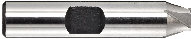 Finish Bright 0.25 Cutting Diameter HSS Uncoated 2.4375 Overall Length 30 Deg Helix 0.375 Shank Diameter 4 Flutes Square Nose End Mill YG-1 E1039 High Speed Steel Weldon Shank