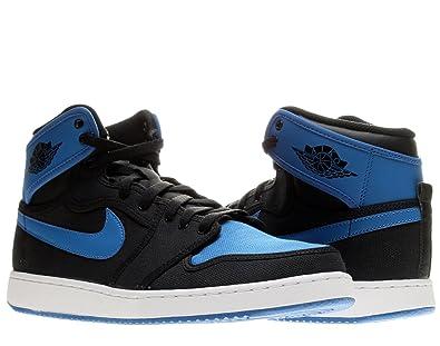 6a725f419d6 Nike Air Jordan 1 KO High OG Men s Shoes Black Sport Blue 638471-007 (Size   11.5)  Amazon.co.uk  Shoes   Bags