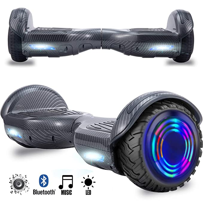 Magic Vida 8´´ Patinete Eléctrico Bluetooth Scooter Monopatín Auto-Equilibrio Patín