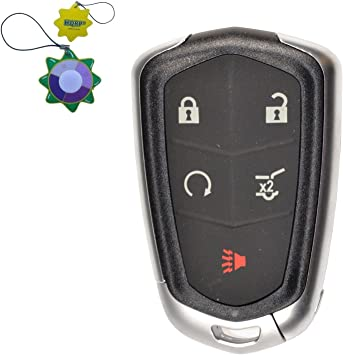Silicone Rubber Case /& Key Ring Bonus MECHCOS Compatible with fit for 2015 2016 2017 2018 Kia Sedona 6 Buttons Leather Case Smart Key Fob Cover Keyless Remote Holder Protecter