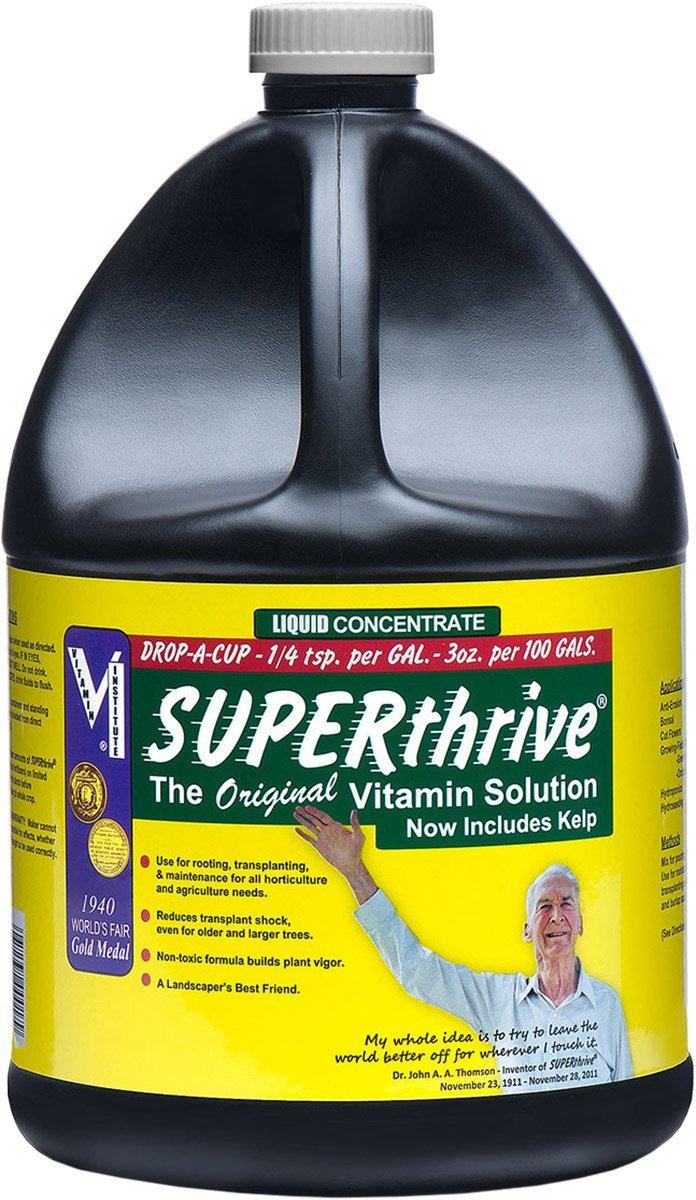 SUPERthrive VI30179 Plant Vitamin Solution, 1 Gallon, clear by SuperThrive