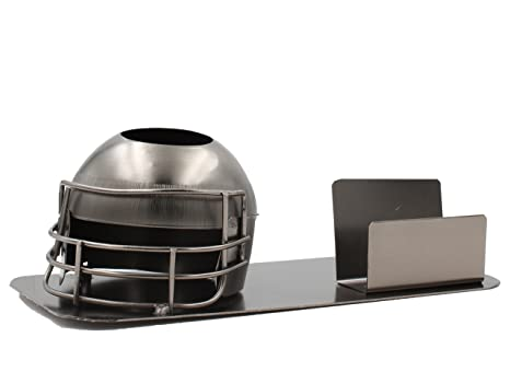 Amazon wine bodies recycled metal desktop pen and business wine bodies recycled metal desktop pen and business card holders football helmet business card holder reheart Choice Image
