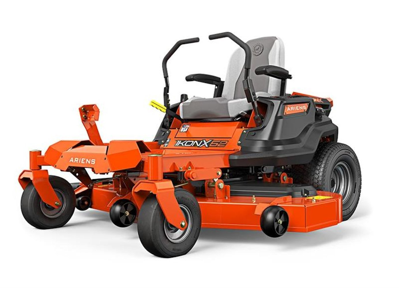 """Ariens 915223 ikon-x 52"""" zero turn mower 23hp kawasaki fr691 series 1 this refurbished product is tested and certified to look and work like new. The refurbishing process includes functionality testing, basic cleaning, inspection, and repackaging. The product ships with all relevant accessories, and may arrive in a generic box"""