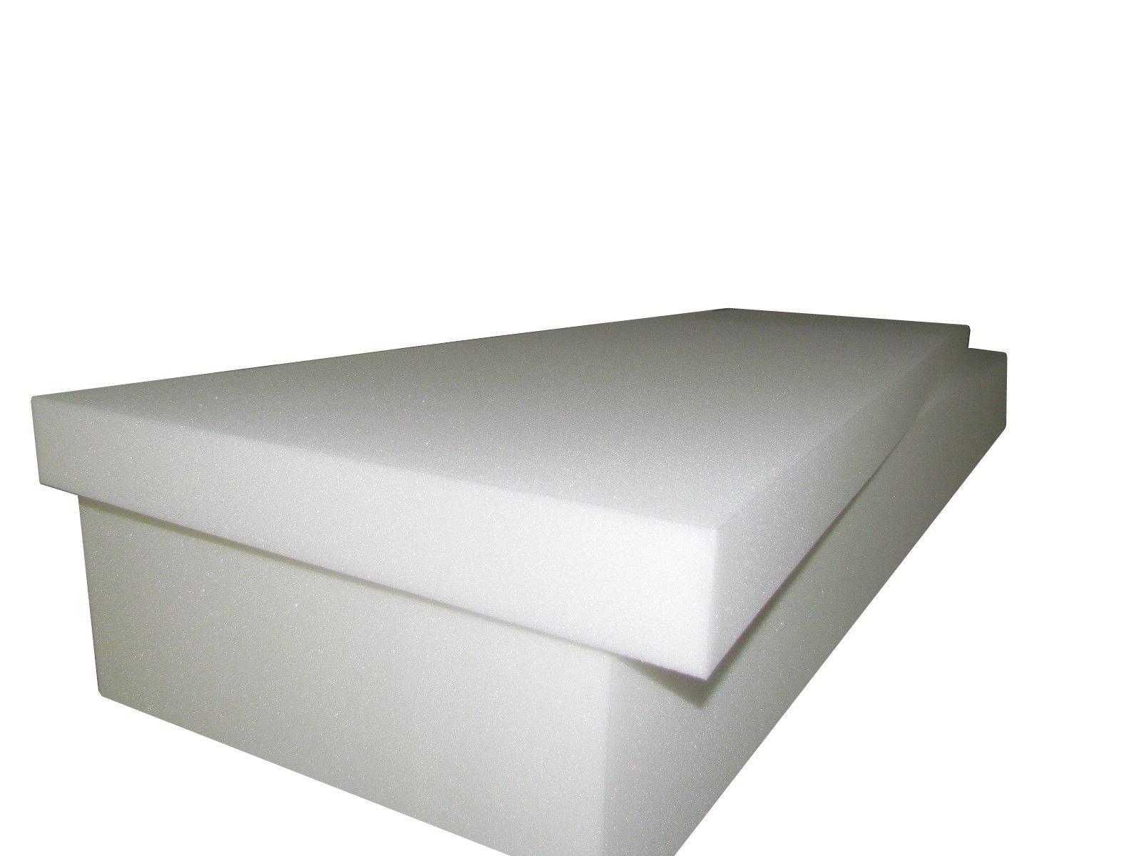 Isellfoam Foam Cushion 6''T x 24''W x 80''L (1536)''MEDIUM FIRM'' Sofa Seat Replacement Foam Cushion, Upholstery Foam Slab, Foam Padding by Isellfoam