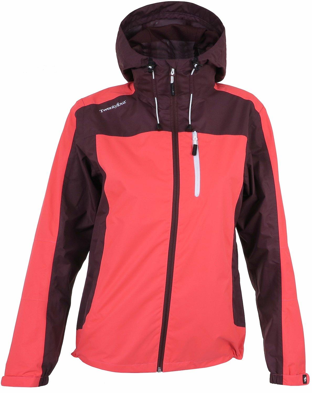Twentyfour Damen Elbrus leichte und wasserdichte Funktions Jacke für Freizeit und Wandern