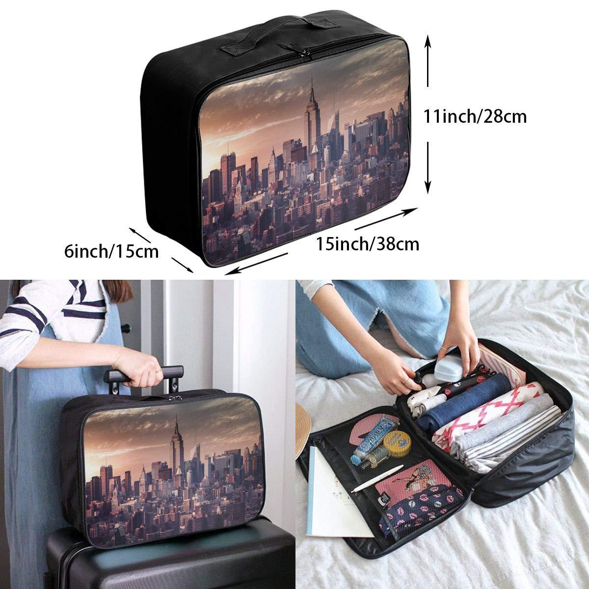 Travel Luggage Duffle Bag Lightweight Portable Handbag I Love Painting Large Capacity Waterproof Foldable Storage Tote