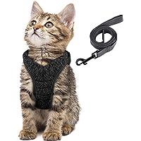 Simpeak Escape Proof Cat Harness and Lead Set, Adjustable Soft Cat Walking Jackets with Retractable Cat Leash for Pet…