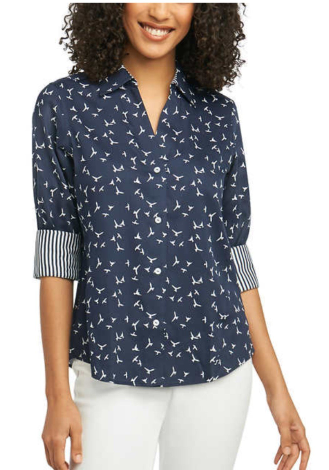 f9052ccca2f943 Womens Navy Blue Oxford Shirt – EDGE Engineering and Consulting Limited