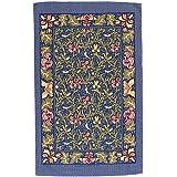 Ulster Weavers Birds and Iris Linen Tea Towel, Blue