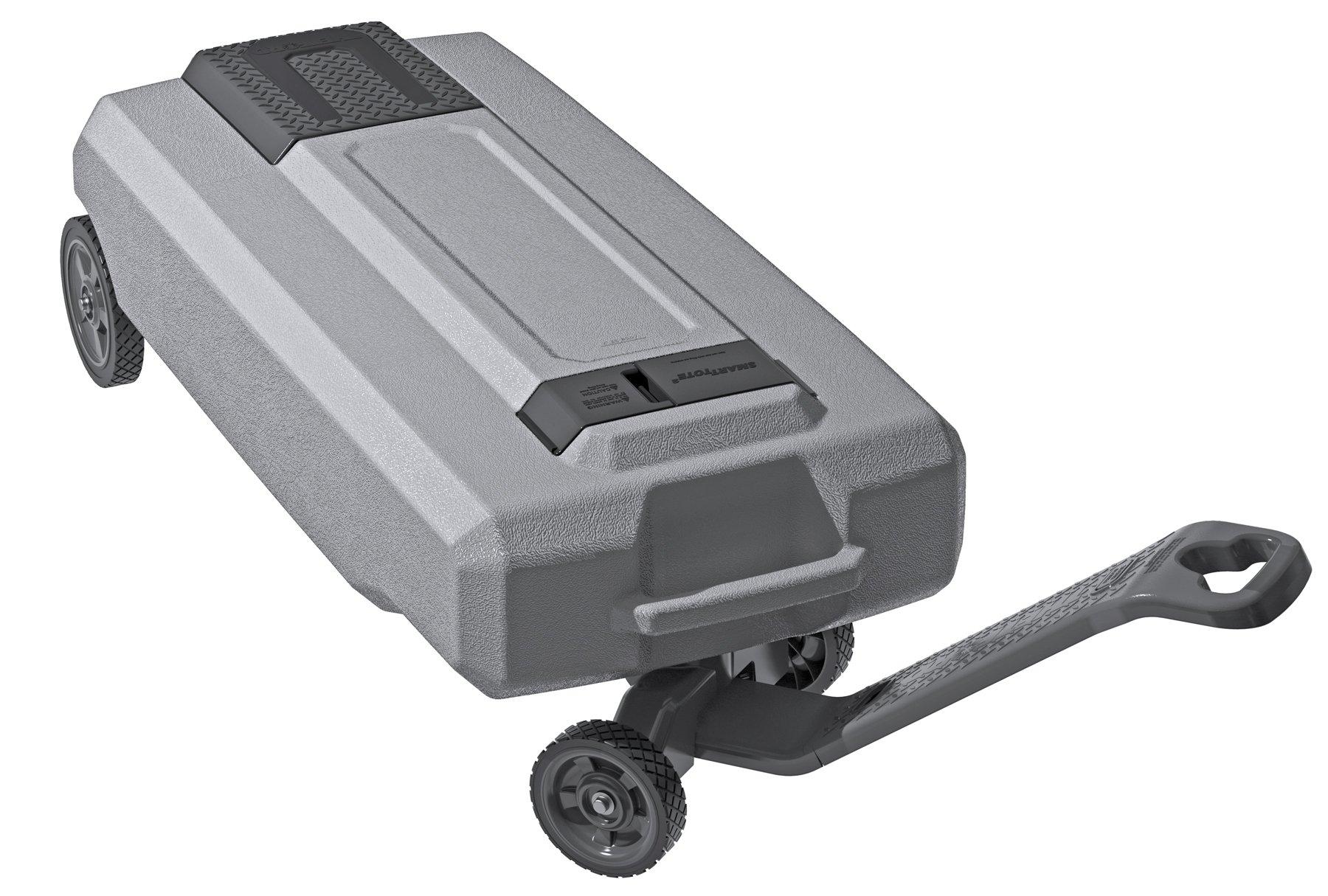 SmartTote2 RV Portable Waste Tote Tank - 4 Wheels - 35 Gallon - Thetford 40519