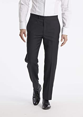 a0938c13ce30 Calvin Klein Men's Modern Fit 100% Wool Tuxedo Suit Separate (Blazer and  Pant)