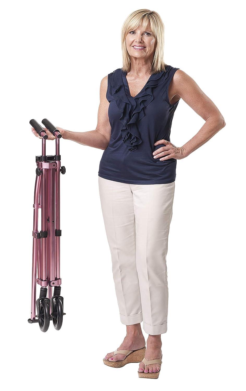 Amazon.com: Able Life Andadera para viajes plegable de peso ...
