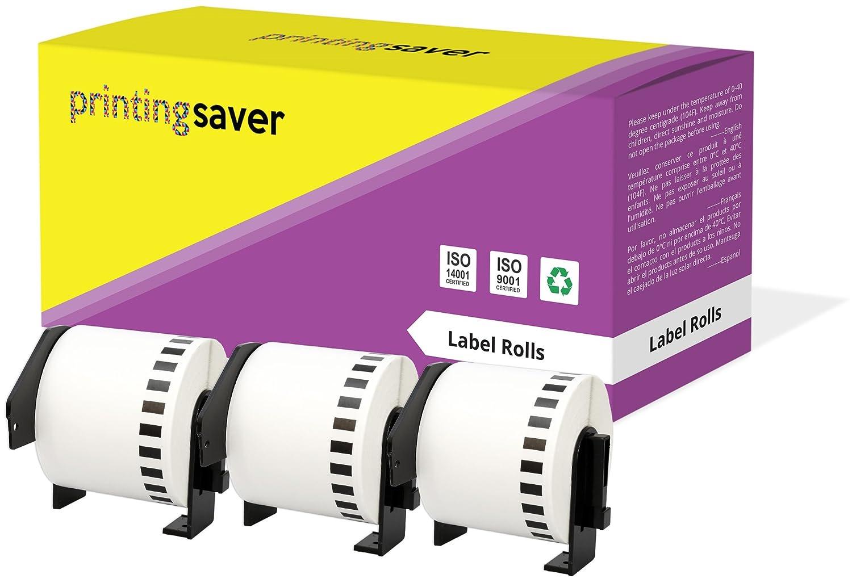 20 Rotoli DK22205 DK-22205 62mm x 30.48m Etichette adesive continuo compatibili per Brother P-Touch QL-500 QL-550 QL-560 QL-570 QL-700 QL-800 QL-810W QL-820NWB QL-1050 QL-1060N QL-1100 QL-1110NWB