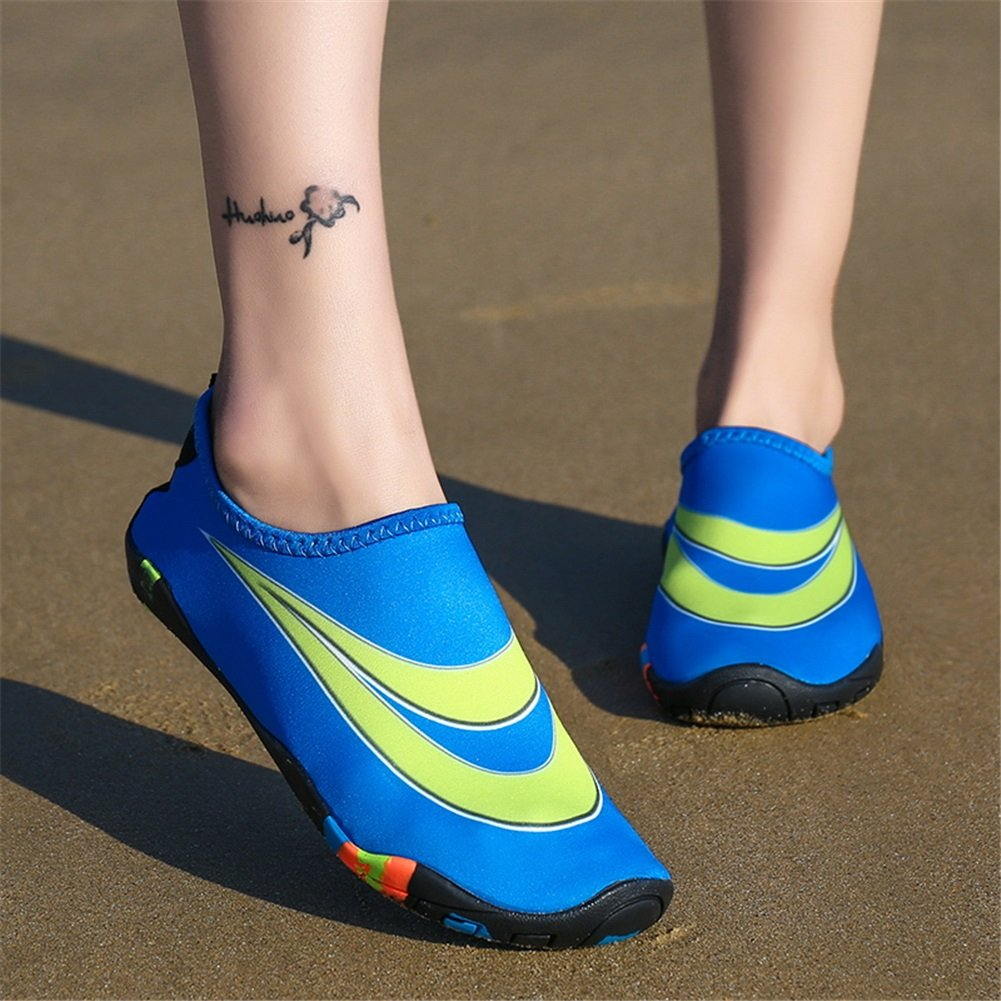 Exing Swimming Shoes New Sports Outdoor Non-Slip Sandals Ultralight Barefoot Stickers Skin Soft Sneakers