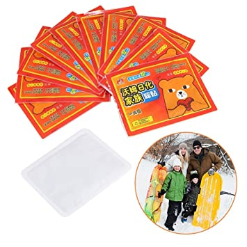 Body Warmers Disposable Air Activated Winter Warm Pad Self Adhesive Body Patch