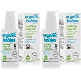 (2 Pack) - Green People - Soothing Baby Oil Scent Free | 100ml | 2 PACK BUNDLE