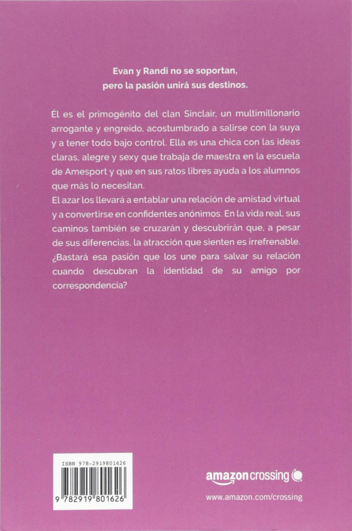 El mensaje del multimillonario (Los Sinclair) (Spanish Edition): J. S.  Scott, Roberto Falcó Miramontes: 9782919801626: Amazon.com: Books