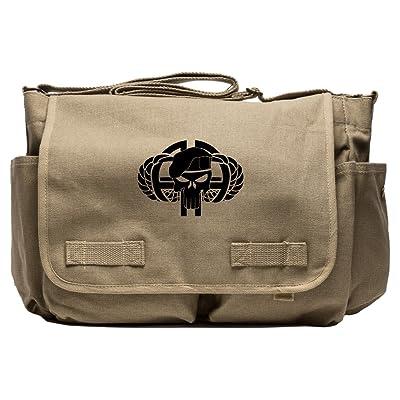 82nd Airborne Heavyweight Canvas Messenger Shoulder Bag
