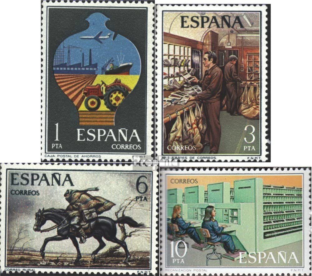 Prophila Collection España Michel.-No..: 2222-2225 (Completa ...