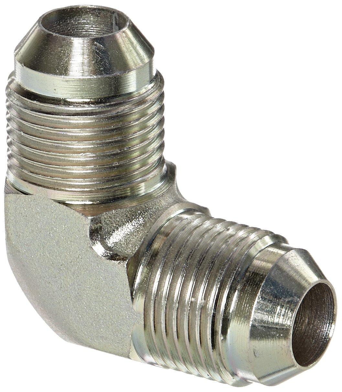 Carbon Steel m 1//2 Tube OD 1//2 Tube OD JIC 37 Degree End Types 1//2 JIC End Size Eaton Aeroquip 2039-8-8S 90 Degree Union Elbow