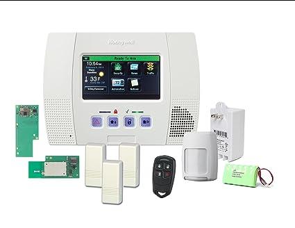 amazon com honeywell lynx touch 5100 wireless alarm wifi zwave rh amazon com Honeywell Lynx System 3 Manual Honeywell Lynx System 3 Manual