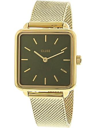 Cluse Reloj Analógico para Mujer de Cuarzo con Correa en Acero Inoxidable CL60014: Amazon.es: Relojes