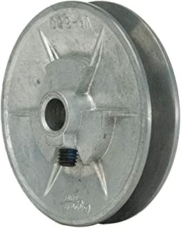 "product image for 5/8"" Fixed Bore Variable Pitch V-Belt Pulley, For V-Belt Section: 3L, 4L, 5L, A, AX, B, BX - 1 Each"