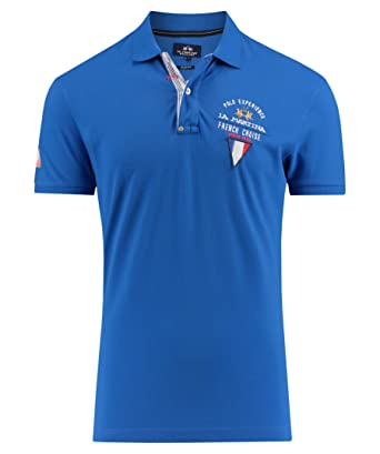 La Martina Man Polo S/S Piquet Stretch, Hombre: Amazon.es: Ropa y ...