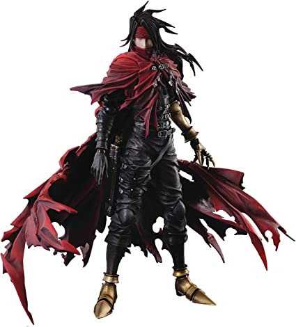 Square Enix Dirge Of Cerberus Final Fantasy Vii Vincent Play Arts Kai Action Figure Toys Games