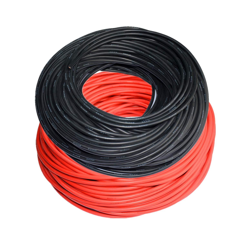 特売 TUOFENG 8ゲージ電線8 10AWG-20メートル AWGシリコンワイヤー100メートル[50 m黒および50 m黒および50 m赤]フレキシブルフックアップワイヤーケーブル 8ゲージ電線8、錫メッキ銅線、耐熱性 B07P7GSQMF 10AWG-20メートル 10AWG-20メートル, カワナベチョウ:103a3dec --- a0267596.xsph.ru