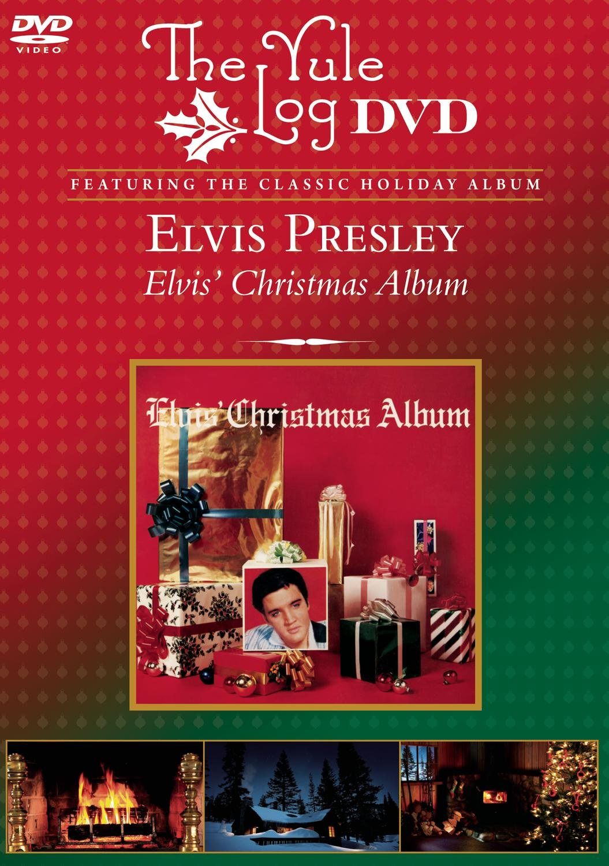 Amazon.com: Elvis Christmas - The Yule Log DVD: Elvis Presley ...