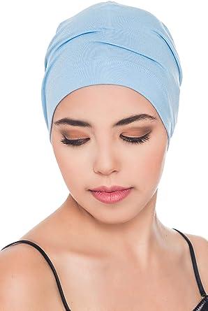 Deresina Gorros para Dormir Oncológicos y para Quimioterapia (Azul (Sky Blue)): Amazon.es: Ropa y accesorios