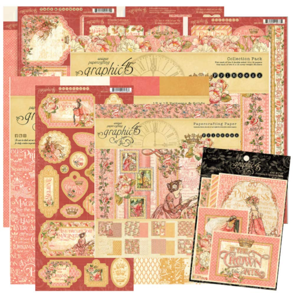 Graphic 45 Princess Collection Package