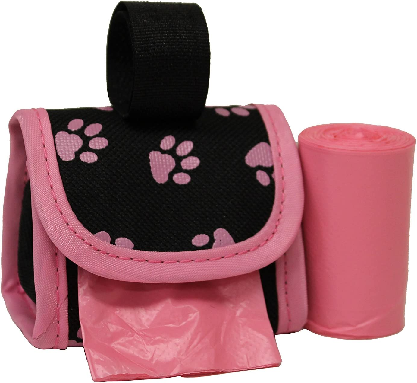 Five Star Pet Purse Style Dispenser with 2 Rolls Made in USA Easy Open Poop Bags Dog Waste Bags