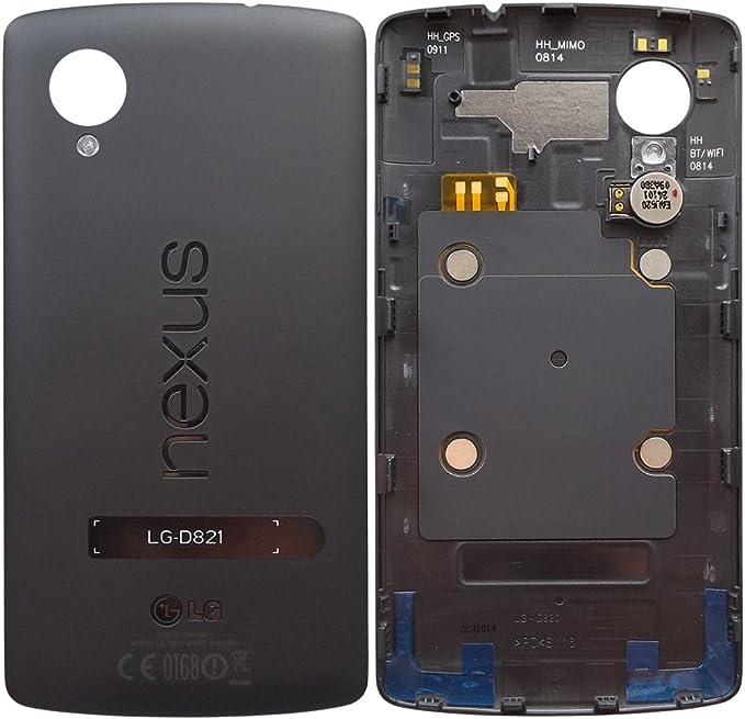 Original LG tapa trasera para Nexus 5 LG D821 - negro/negro (tapa ...