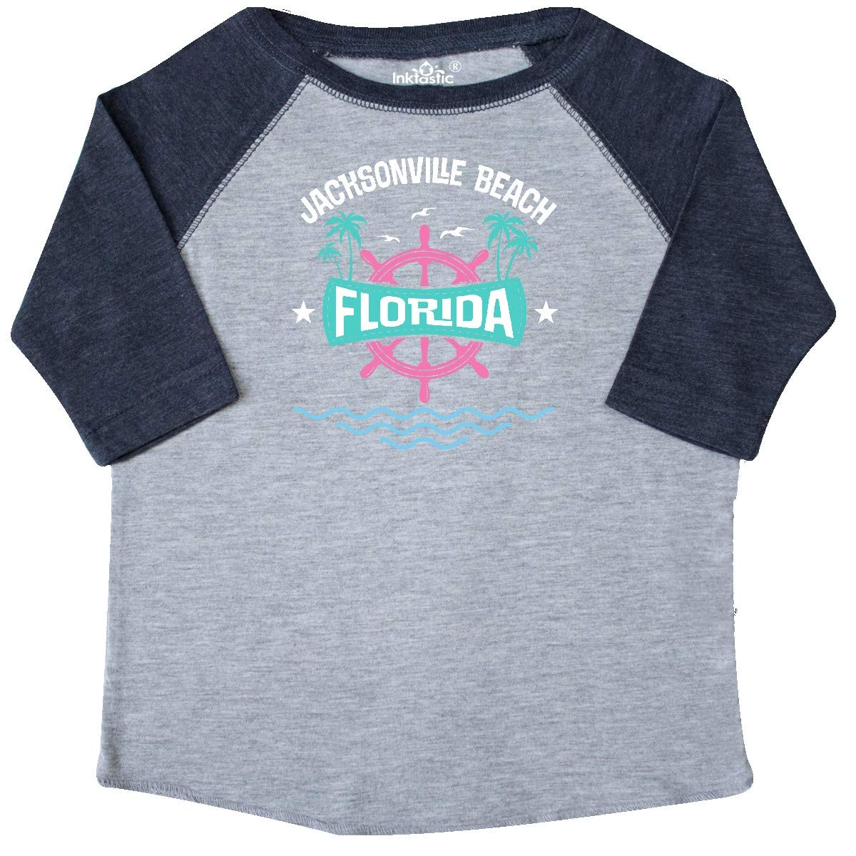 inktastic Jacksonville Beach Florida Vacation Toddler T-Shirt