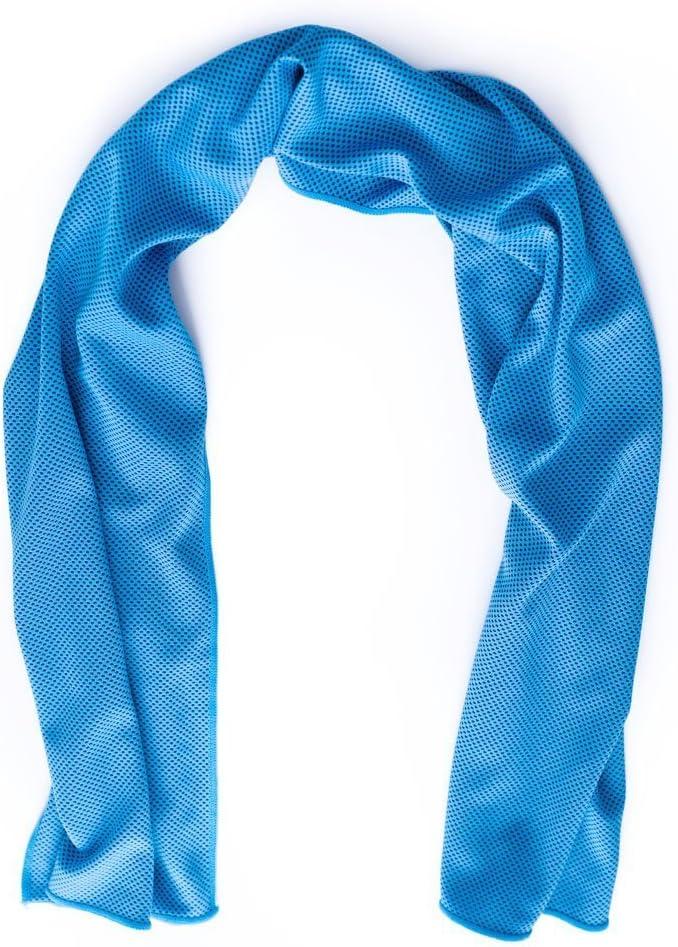 "GEYUEYA Home Sports Workout Towel, 40""x12""Microfiber Athletic Cooling Towel for Runner Yoga Golf Baseball Worker"