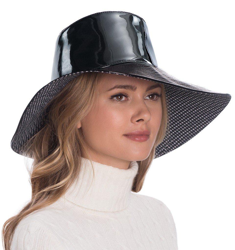 Eric Javits Luxury Fashion Designer Women's Headwear Hat - Driptidoo (Black) by Eric Javits