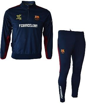 ae22e4dc319 Fc Barcelone Survêtement Training fit Barca - Collection Officielle Taille  Enfant garçon 8 Ans