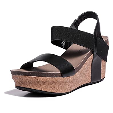 4252c3f4a3bcb2 Image not available for. Color  Corkys Womens Wedge Sandals (6 B(M) US