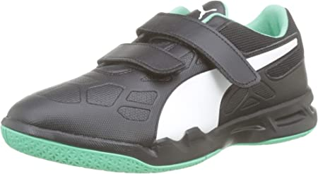 PUMA Tenaz V Jr, Zapatos de Futsal Unisex Niños