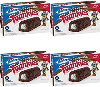 product image for Hostess Chocolate Cake Twinkies, 10 Count, 13.58 Ounce (Pack of 1)-SET OF 3 Pack of 4