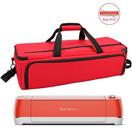 5a2781a77804 Carrying Bag Compatible with Cricut Explore Air(Air2) / Cricut Maker, Tote  Nylon Carry Bag Fit to Cricut Die-Cut Machine and Supplies